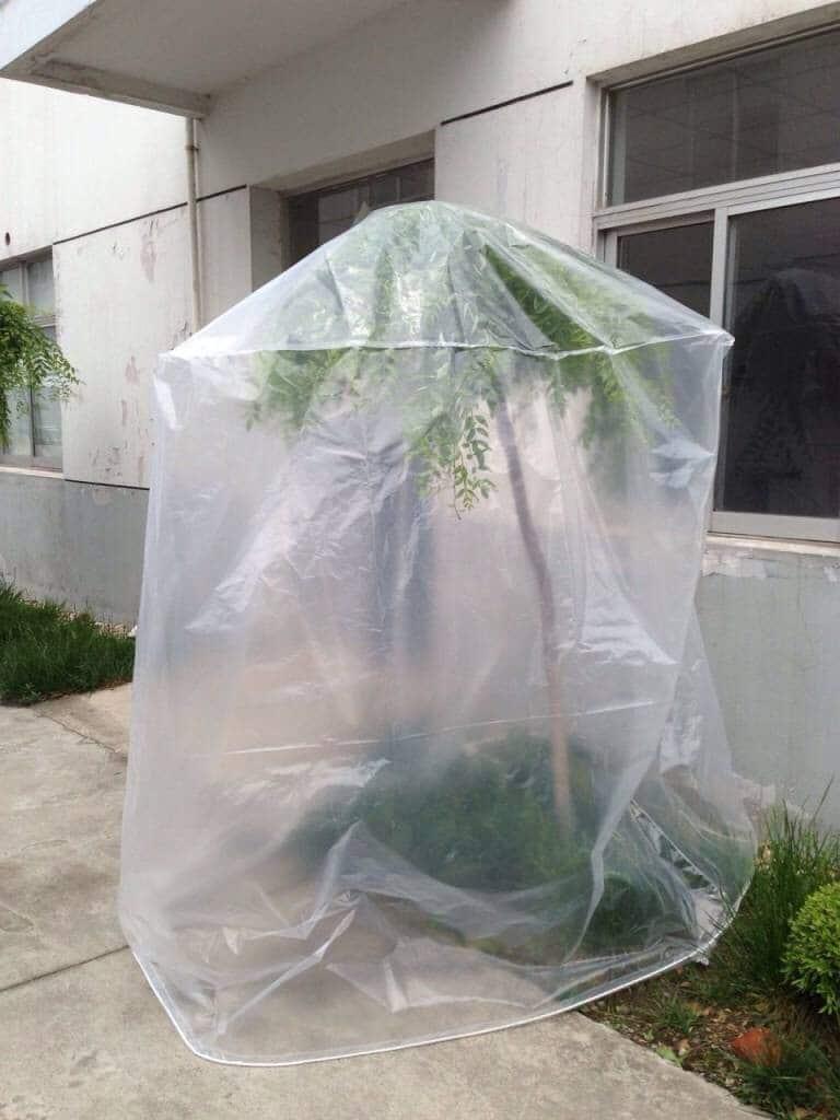 รูปตัวอย่างการใช้งานถุงพลาสติกเท่านั้น