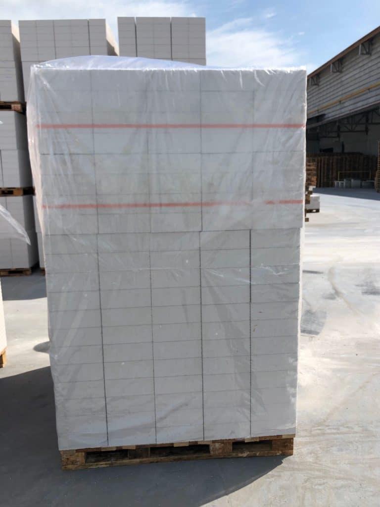 ตัวอย่างถุงพลาสติก รูปทรงมุ้ง คลุมพาเลท