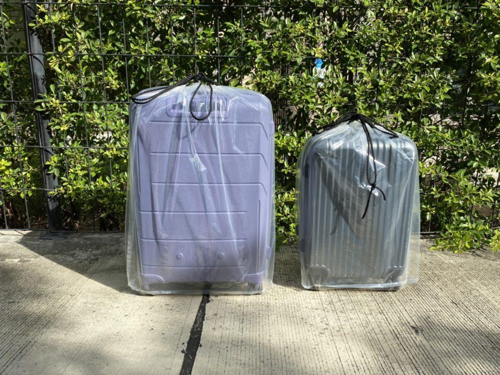 ถุงคลุมกระเป๋าเดินทาง  โดยบริษัท endupak
