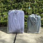 ถุงมุ้งถ้ามีขนาดเล็กจะมีหน้าตาอย่างไร ? - ถุงพลาสติกคลุมกระเป๋าเดินทาง